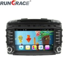 "Rungrace 8"" Android 2 Din Car DVD Player w/ BT, GPS, RDS, CANBUS, IPOD, Wi-Fi for Kia Sorento"
