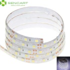 SENCART Waterproof 15W 5050 SMD LED Light Strip Cool White 6500K 720lm (DC12V / 100cm)