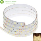 SENCART Waterproof 15W 5050 SMD LED Light Strip Warm White 3500K 720lm (DC 12V / 100cm)