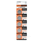 3V CR2025 Lithium Manganese Button Cell Battery (5PCS)
