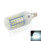 LeXing Lighting Dimmable E14 0~8W LED Corn Light White Light 6500K 520lm 72-SMD 5630 (AC 220~240V)