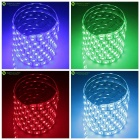 15W Waterproof Flexible LED Light Strip RGB 60-SMD 450nm - White (1m)