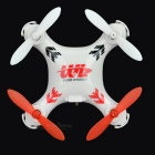 WLtoys V676 2.4GHz R/C Helicopter w/ 6-Axis Gyro / Lamp - White + Red