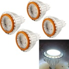 YouOkLight GX5.3 4W LED Bulb Spotlight White Light 6000K 380lm (12V / 4PCS)