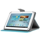 "ENKAY 360° Rotary Universal PU Case for 10"" Tablet PC - Light Blue"