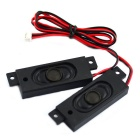 Jtron 8ohm 2W Speaker for LCD TV - Black (73mm x 23mm / 2PCS)