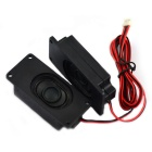 Jtron 8ohm 2W Speaker for LCD TV - Black (70mm x 31mm / 2pcs)