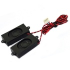 Jtron 8ohm 2W Speaker for LCD TV - Black (50mm x 20mm / 2pcs)