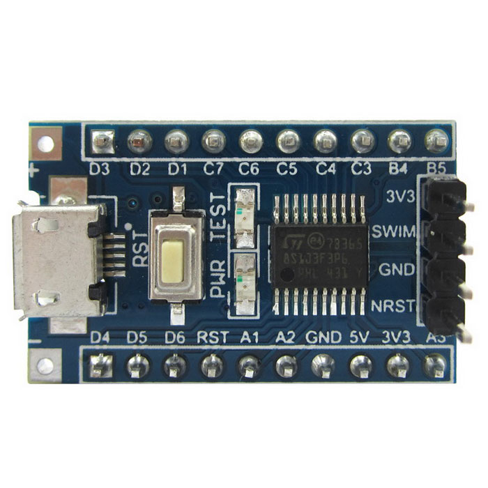 STM8S103F3 STM8 Core-board Development Board w/ Micro USB / SWIM Port