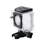 "SJ402 1080P HD 1 / 2,33"" 5.0MP sport waterproof camera - zwart + zilver"