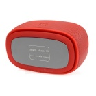 Wireless Bluetooth V3.0 Speaker w/ Hands-free, TF, 3.5mm - Red