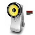 SmartCam HD Pro 1080p Full-HD Wi-Fi Clip-On Camera w/ 32GB MicroSD Card - White + Yellow