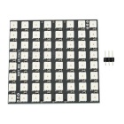 Square 8*8 64-Digit WS2812 5050 LED Development Board - Black