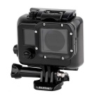 RUITAI GP338 Professional 45m Waterproof Camera Housing Case for GoPro Hero3/Hero3+/Hero4 - Black