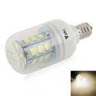 WaLangTing E12 4W dimmbare Corn Lampe Natural White 4500K 240lm 24 LED - White (AC 220 ~ 240V)
