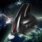 USB Cable Vertical 5D Ergonomic Mouse - Black