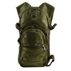 800D Ourdoor Dual-Bag Nylon Backpack for Cycling Camping Travelling - Army Green