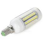 E14 8W LED Corn Lamps Cold White Light 600lm 48-SMD 5050 (5PCS)