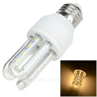 E27 5W 3U-Shaped Corn Lamp Warm White 3000K 400lm SMD 2835