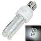 E27 7W 3U-Shaped Corn Lamp White Light 6500K 550lm SMD 2835 (AC 85~265V)