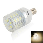 WaLangTing E12 4W dimmbare LED Corn Lampe Natural White 4500K 240lm 24-SMD - Weiß (AC 220 ~ 240V)