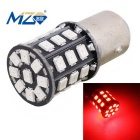 MZ 1157 6.6W LED Car Brake Light Red 660nm 330lm SMD 2835 w/ Constant Current (12~24V)