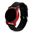 Touch Red LED Display Digital Wrist Watch - Black + Red (1* 2016)