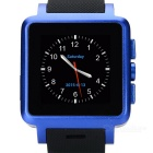 "1.54"" Capacitive Screen Android 4.2 Dual-Core MT6572 Watch Phone w/ GSM, 4GB ROM, 1.9MP Cam - Blue"