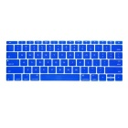 "ENKAY Protective Translucent Silicone Keyboard Film for the New MacBook 12"" - Dark Blue"