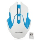 Motospeed G409 2.4GHz Wireless 800/1200/1600DPI Gaming Mouse - White + Blue