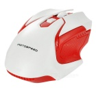 Motospeed G409 2.4GHz Wireless Gaming Mouse - White + Red