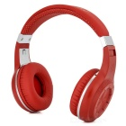 Bluedio Stereo Bluetooth v4.1 Wireless Sport Headband Headphones - Red