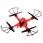 MJXR/C X400-V2 Headless 4-CH Four-Axis Gyroscope R/C Quadcopter - Red + Black