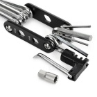 New 14-in-1 Muiltifuntional Foldable Bike Repair Tools - Black