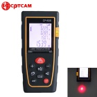 CPTCAM CP-60S Portable 60m Laser Rangefinder Distance Measuring Meter - Black + Yellow (2 x AAA)