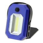 YY6238 LED Working Lamp Cool White 160lm w/ Magnet On Clip - Black + Yellow (3 x AAA, 3.6~4.5V)