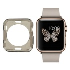 Protective TPU Dial Screen Protector Case for APPLE WATCH 42mm - Transparent Black