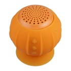pompoen zuignap mini BT V4.0 speaker w / hands-free - oranje