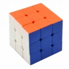 3x3x3 Magic Rubik's Cube - White + Blue + Multi-Color