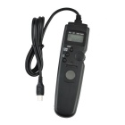 "0.47"" LCD Camera Timing Remote Shutter Switch for Sony A7 / A7R / A5000 + More - Black (1 x CR2032)"