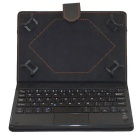 "81-Key bluetooth V3.0 tastatur tilfellet m / touchpad for tablet 7"" - svart"