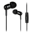 JBMMJ A8 In-Ear Earphones w/ Microphone / 3.5mm Jack - Black + Silver