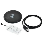 QI Wireless Charger + Receiver Kit for Samsung / Xiaomi - Black+White