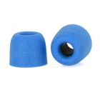 T400 Noise Reduction Memory Cotton In-Ear Earbud Covers - Light Blue