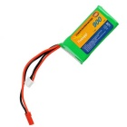 7.4V 900mAh 20C 3-Pin + 2-Pin Replacement Lithium Polymer Battery for R/C Toys - Green