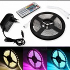 2m Waterproof 30W 120-SMD LED Light Strip RGB w/ Remote / EU Adapter