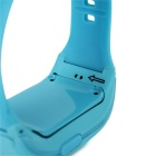 "Kid's 0.8"" Silicone Band Wrist Watch w / GPS Positioning - Azul"