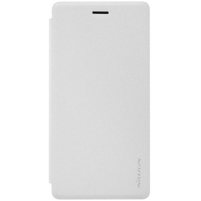 NILLKIN Flip-Open PU Leather + PC Case for Xiaomi 4i - White
