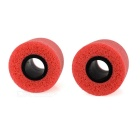 T400 Noise Reduction Memory Cotton In-Ear Earbud Covers - Red