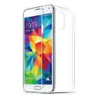 Ultra-thin Protective TPU Back Cover Case for Samsung Galaxy S5 - Transparent